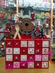 Деревянный адвент календарь «Рождественский»_4