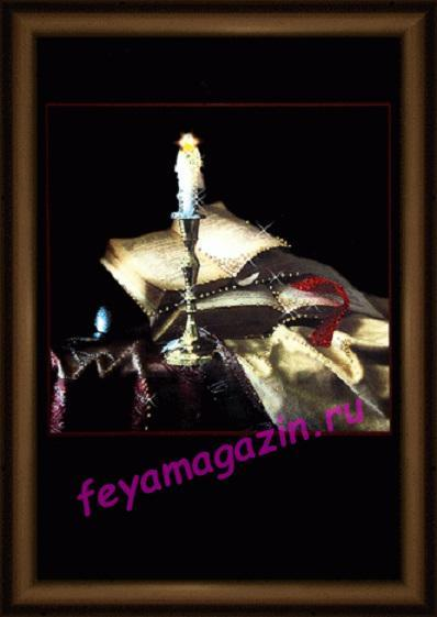 "Набор картина стразами Чарівна Мить КС-094 ""Уютный вечер""/feyamagazin.ru"