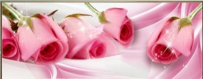 """АЛМ А6304-1"""" Розовые розы"""" полная выкладка круглыми стразами/feyamagazin.ru"""