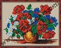 Летние цветы (набор для вышивания крестом)
