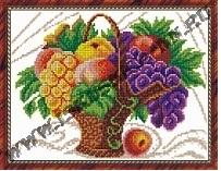 Корзина с фруктами (набор для вышивания крестом)
