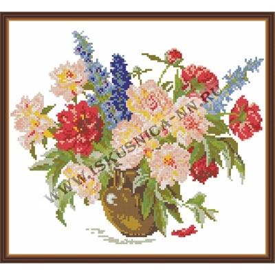 Садовый букет (набор для вышивания крестом)
