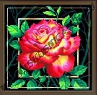 Цветок. Любовь (набор для вышивания крестом)