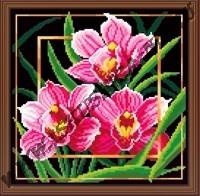 Цветок. Орхидея (набор для вышивания крестом)