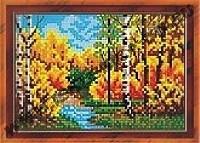 Осенний мотив (набор для вышивания крестом)
