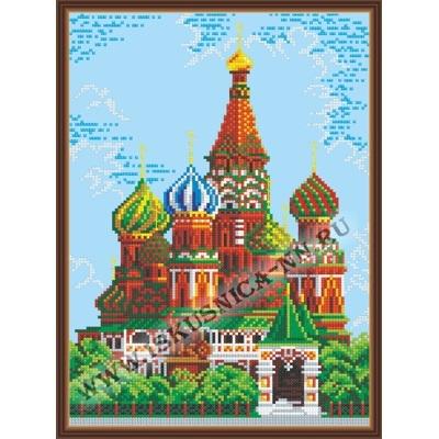Храм Василия Блаженного (набор для вышивания крестом)