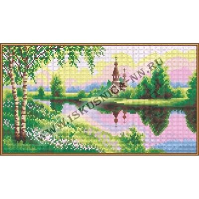 На розовой зорьке (набор для вышивания крестом)