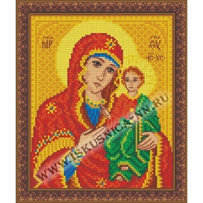 """Образ """"Смоленской"""" Пр. Богородицы (набор для вышивания крестом)"""