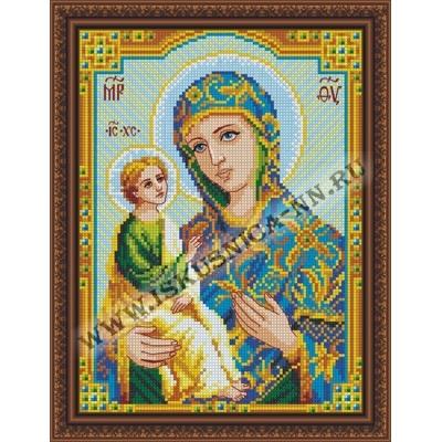 """Образ """"Иерусалимской"""" Пр. Богородицы (набор для вышивания крестом)"""