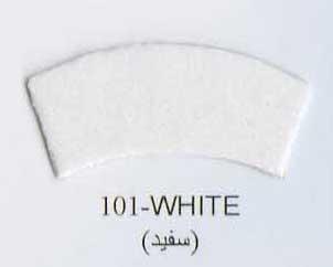 Фоамиран иранский  белый,1 мм, 60*70 см