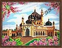 Мечеть Захир. Малайзия (набор для вышивания крестом)