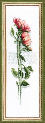 """Набор для вышивания крестом """"Чаривна Мить""""А № 010 Роза 9*29"""